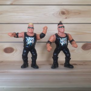 WWF The Nasty Boys Jerry Saggs and Brian Knobbs Figures
