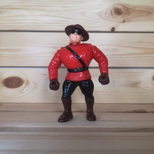 WWF The Mountie Figure